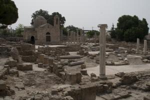 Kypr - archeologické naleziště v Pafos